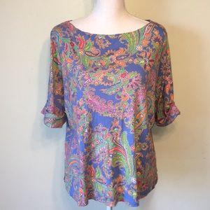 Ralph Lauren colorful T-shirt size 2x